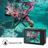 4K 1080P Manual Wifi Waterproof Helmet Underwater Sport DV Camera