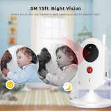 2.4G Wifi Video Baby Monitor 3.5 inch