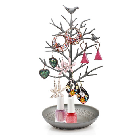 Jewelry holder tree shape