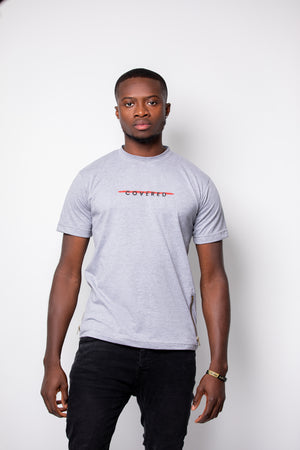 Open image in slideshow, GREY COVERED TEE