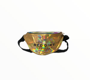 Gold Holographic Fanny Pack