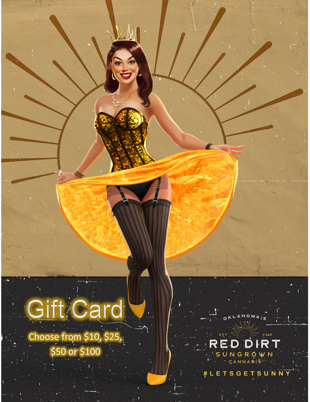 Red Dirt Sungrown Gift Card
