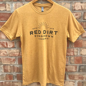 Short Sleeve Gold Shirt (Unisex)