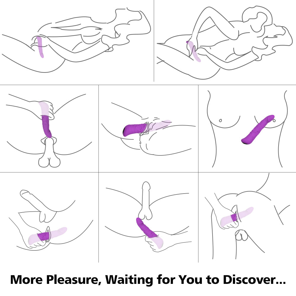 S-hande rechargeable powerful sex massage vibrator