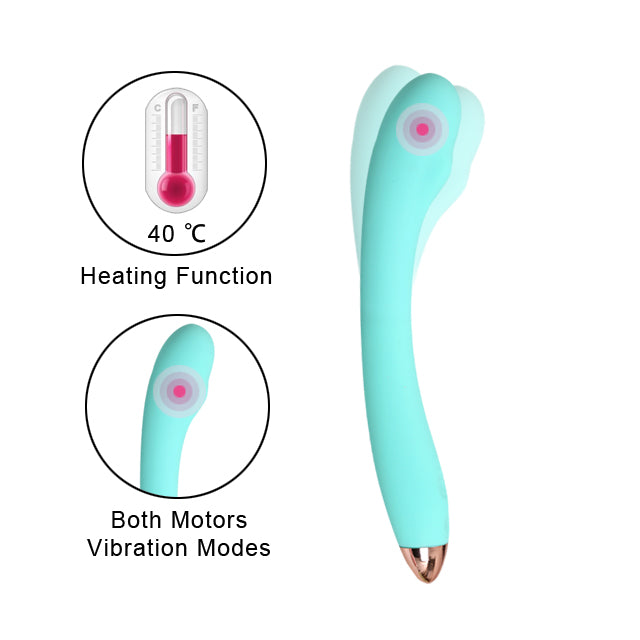 Libo-Cordless Wand Massager Dual Independent Motor Muscle Sports Recovery Strong Vibration for sex toys female