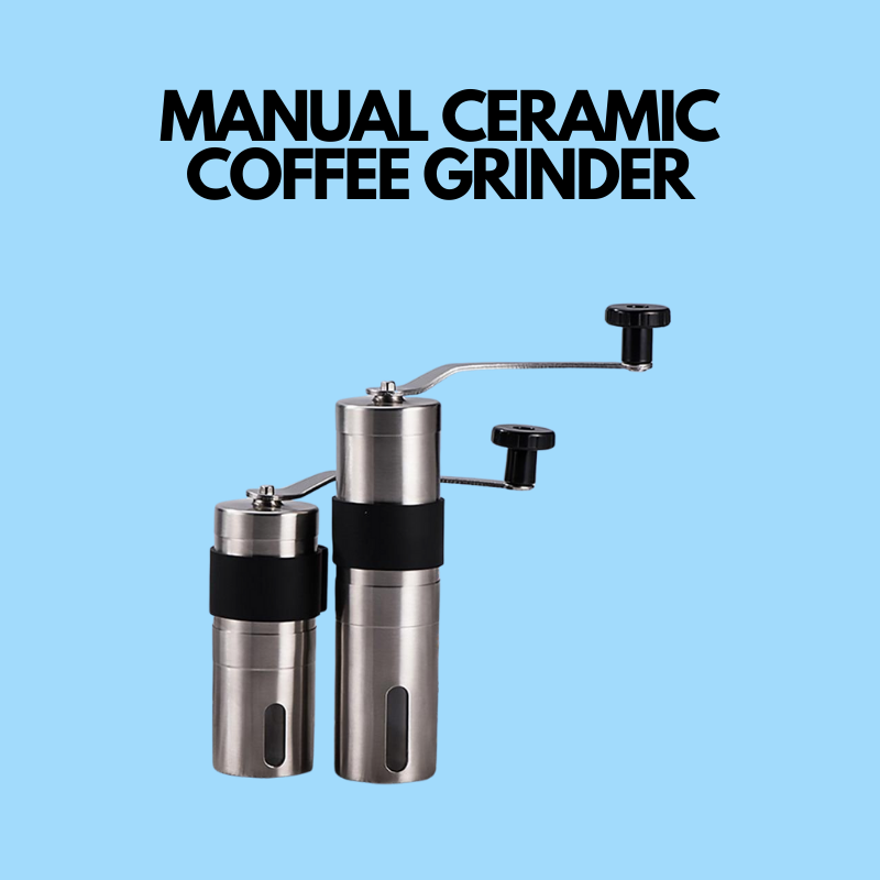 MANUAL CERAMIC COFFEE GRINDER - Smart Bottle  - bottle BOTTLE TEA - Bottle Tea Bottle Tea - Bottle Tea
