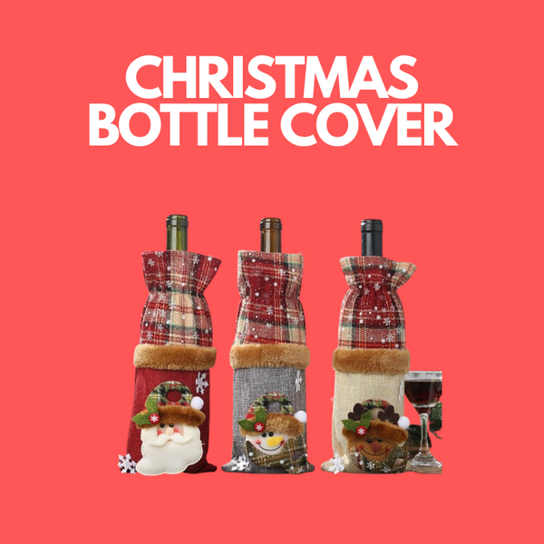 CHRISTMAS BOTTLE COVER - Smart Bottle  - bottle BOTTLE TEA - Bottle Tea Bottle Tea - Bottle Tea