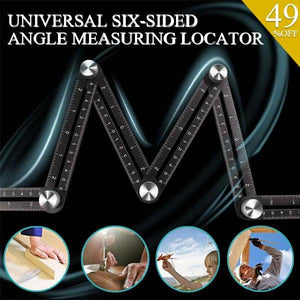 Universal Six-Sided Angle Measuring Locator