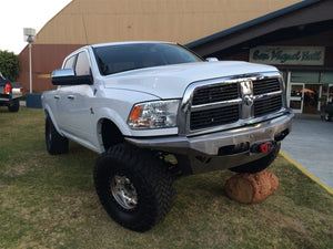 "Dodge 2010-2012 Fourth Generation ""Miss Piggy"" Front Bumper"
