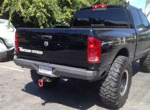 "Dodge Third Generation ""A-Bomb"" Rear Stock Replacement Bumper"