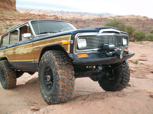 Jeep Grand Wagoneer Front Bumper - The Moab