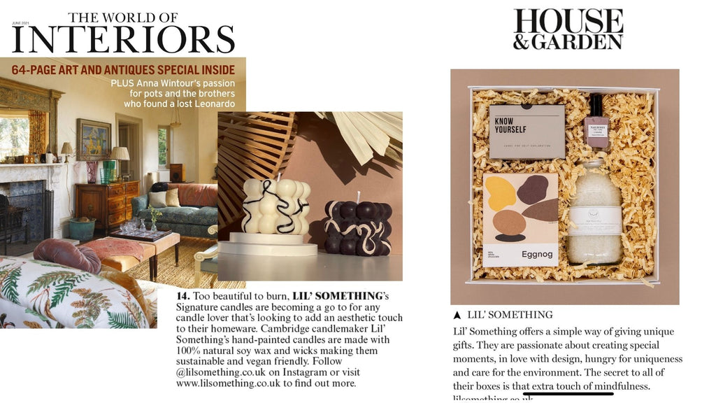 HOUSE AND GARDEN AND THE HOUSE OF INTERIORS MAGAZINES