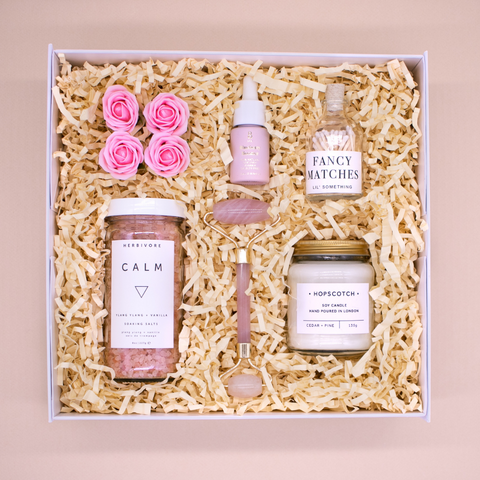 daily calm self care gift box for her
