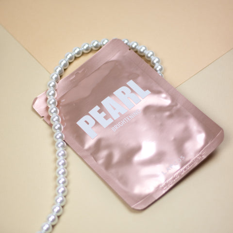 pink pearl face mask by lapcos