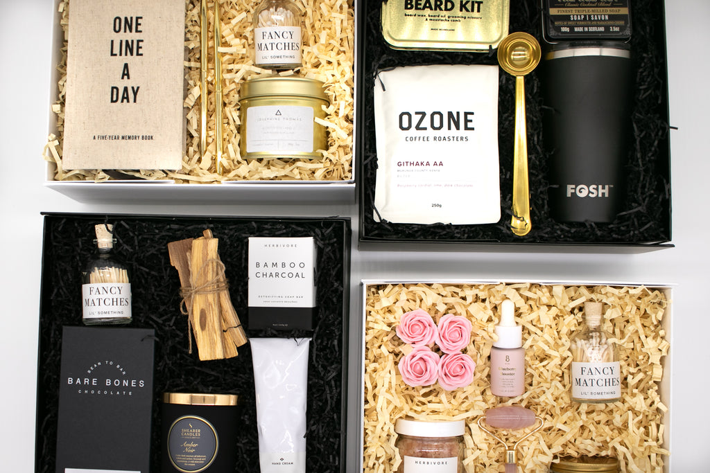 self care gift boxes for her and for him