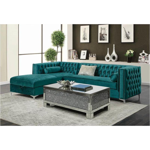 Coaster Furniture Bellaire - Green Sectional