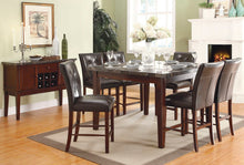 Load image into Gallery viewer, DINING TABLE + 6 CHAIR  MARBLE TOP  (DECATUR COLLECTION)