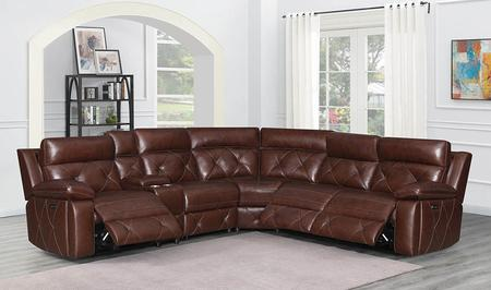 Chester Collection  6-Piece Power Reclining Sectional Sofa