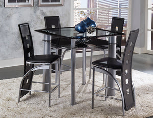DINING TABLE + 4CHAIRS ( SONA COLLECTION )