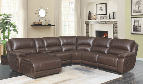 Mackenzie Modular Leather Sectional Sofa