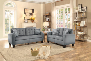 LOVE SEAT WITH 2 PILLOWS (SINCLAIR COLLECTION)