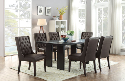 Espresso 7 Pcs Dining Set