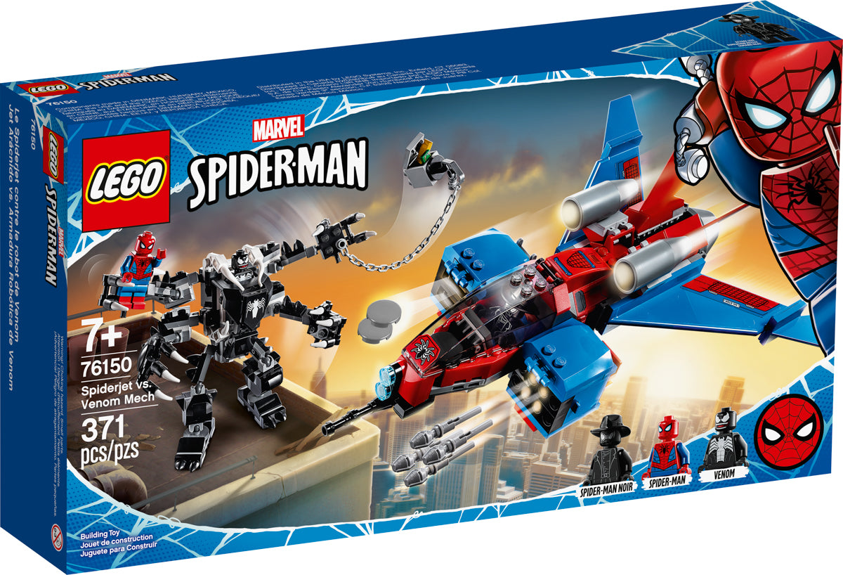 El jet de spiderman 76150 01