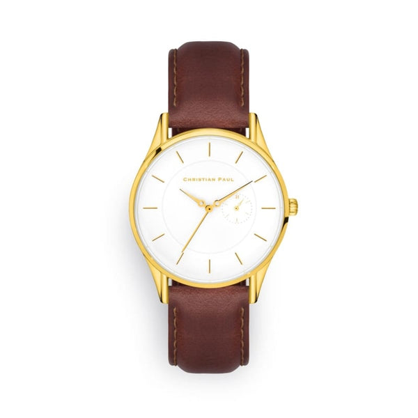 Richie Havana Days Gold & Brown 40mm Watch