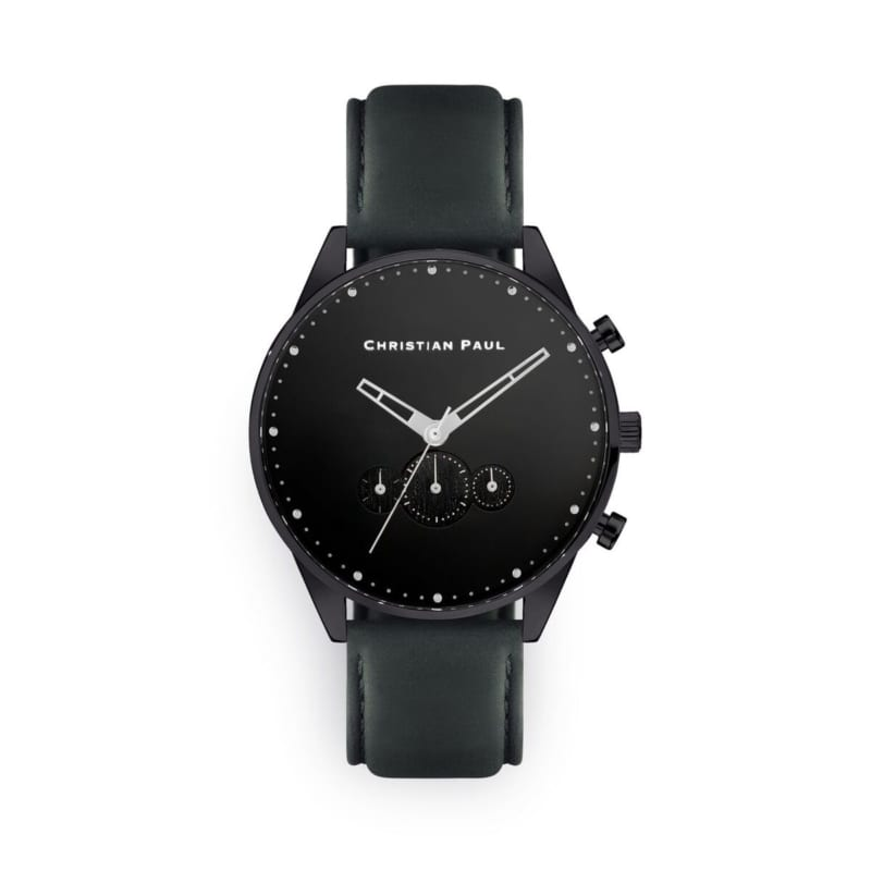 Nightwalker Black & Grey Mens Watch