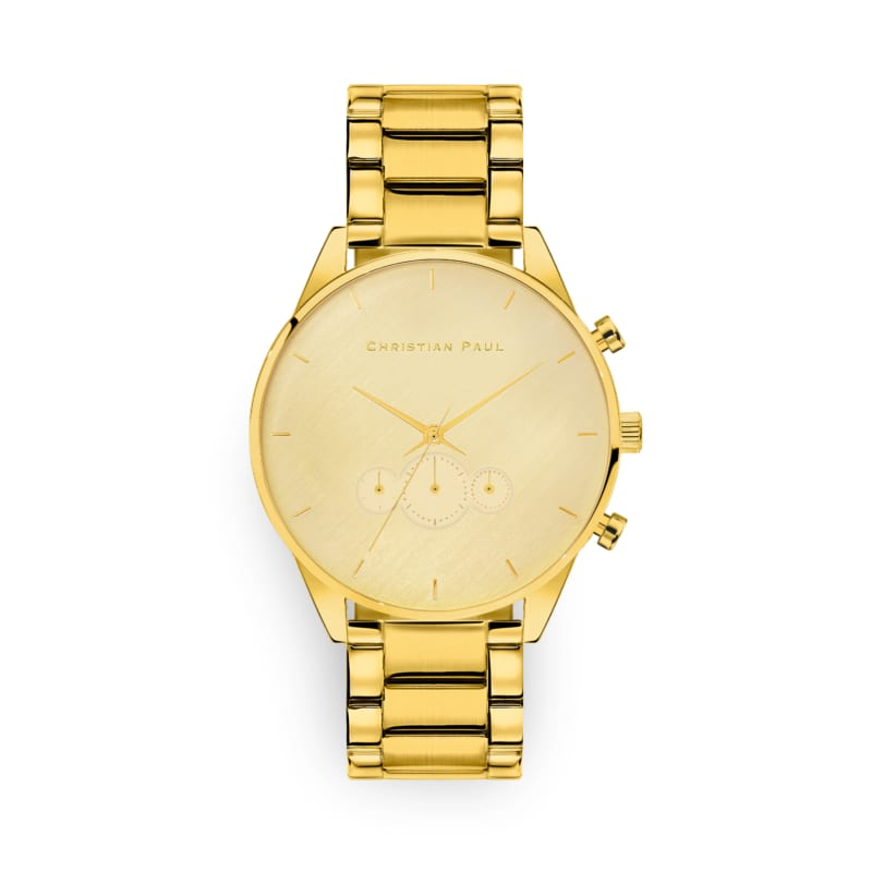 Curtis All Gold Metal 45mm Mens Watch