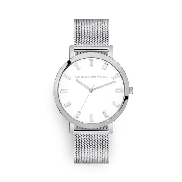 Habana Silver Mesh Watch