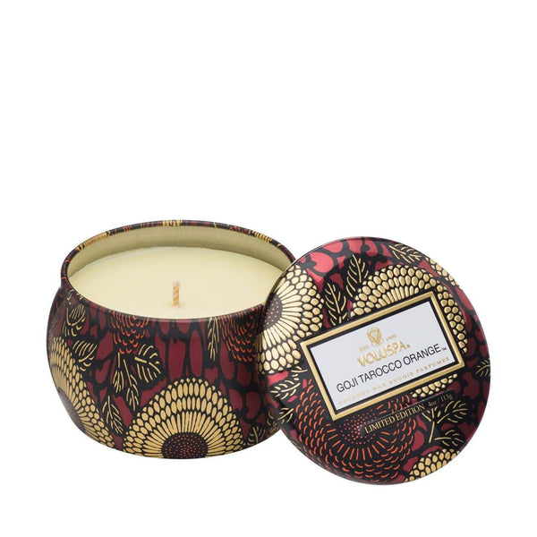 Voluspa Goji Tarocco Orange Decorative Candle