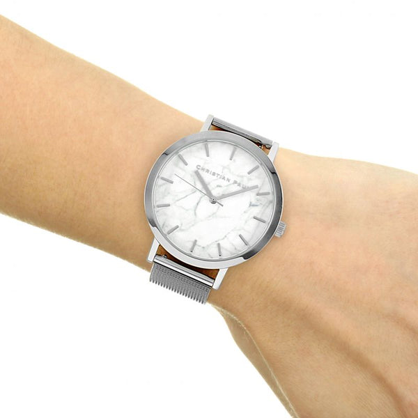 Whitehaven Marble 43 Mesh Watch
