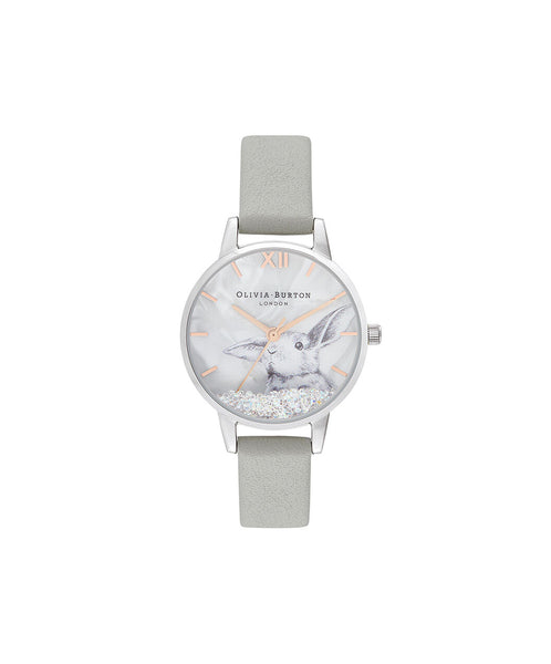 Winter Wonderland Grey & Silver Watch
