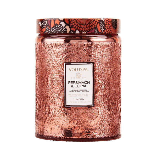 Voluspa Persimmon Copal 100 Hour Candle