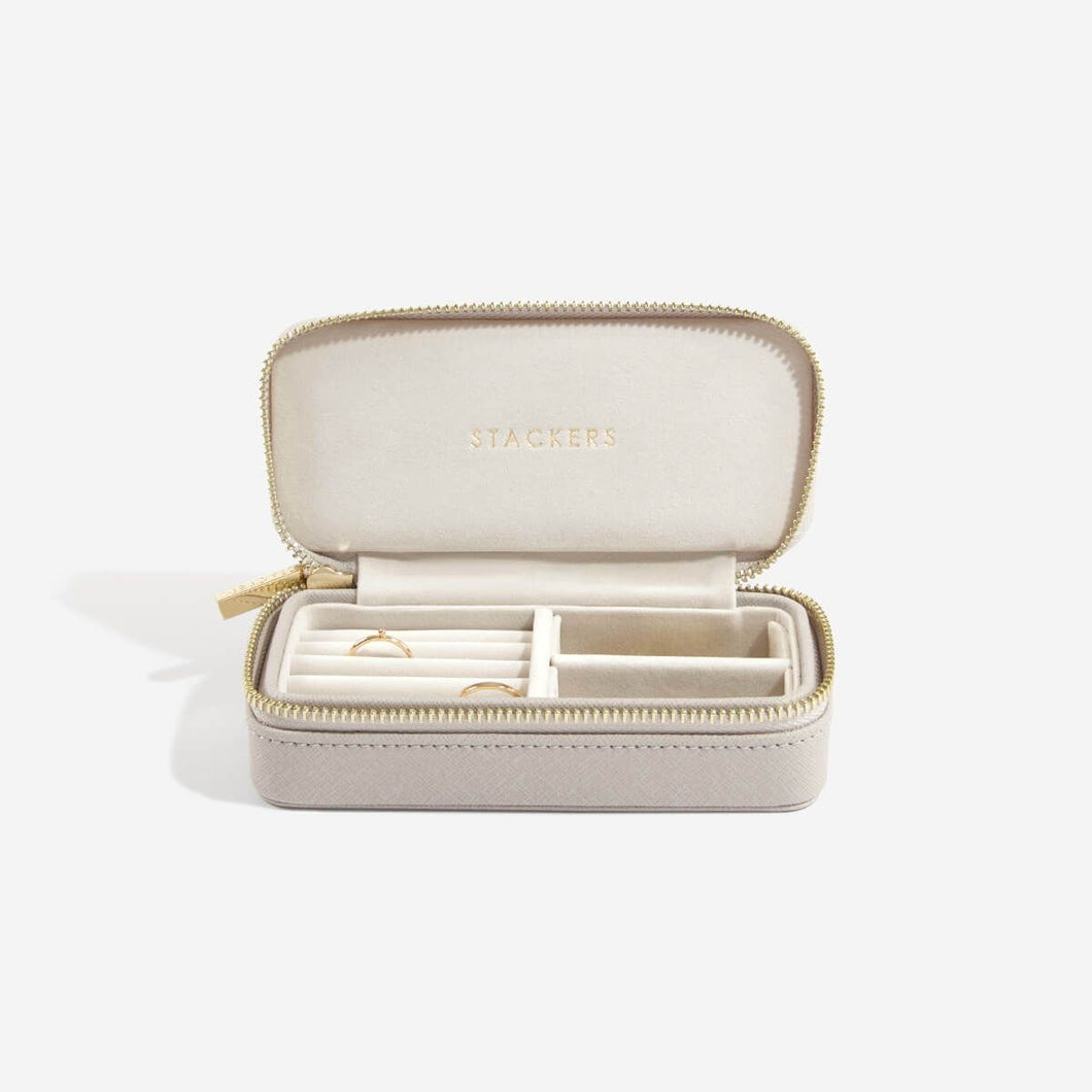 Stackers Taupe Travel Jewellery Box
