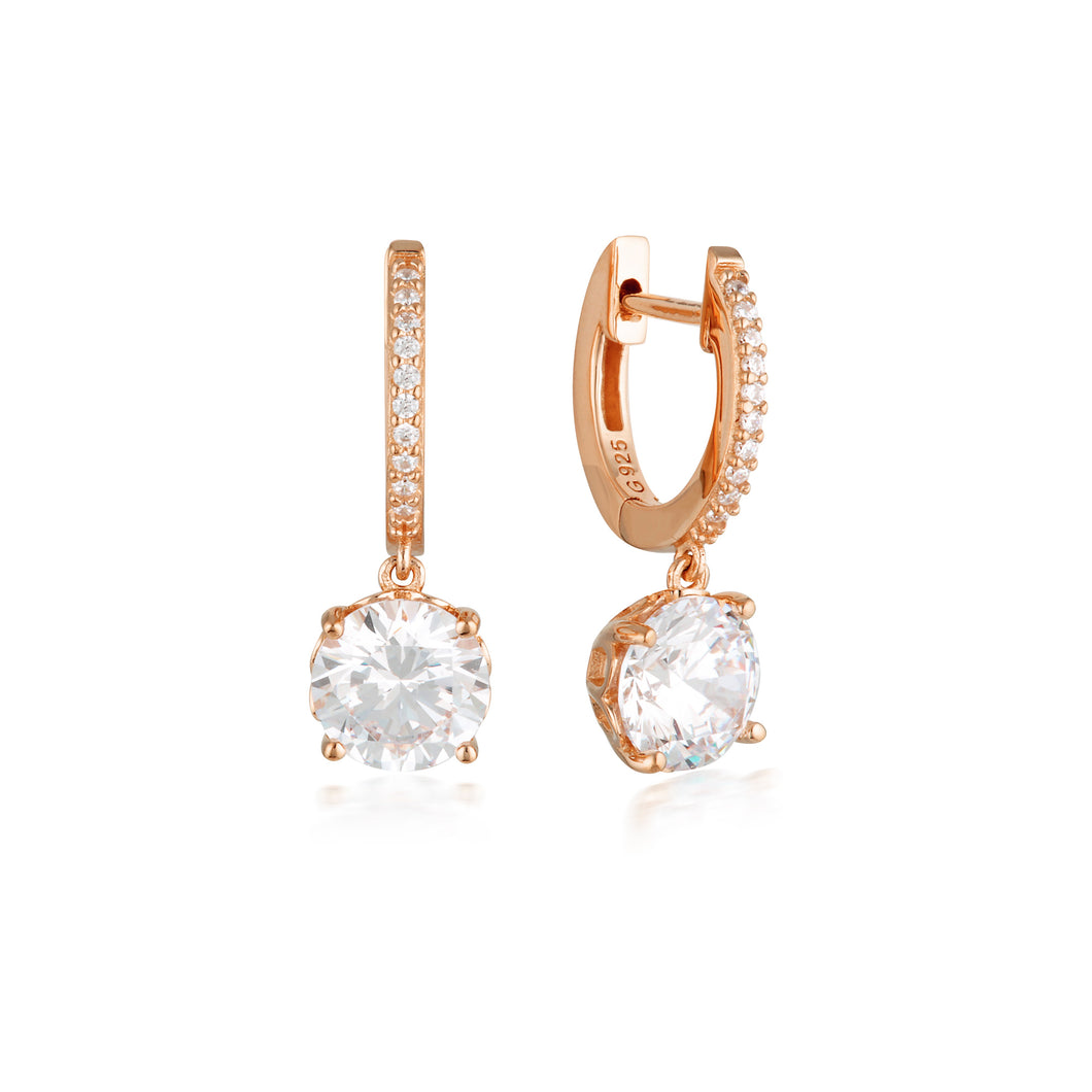 Regale Rose Gold Earrings
