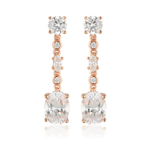 Lusso Rose Gold Earrings