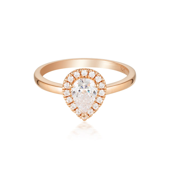 Splendore Rose Gold RIng