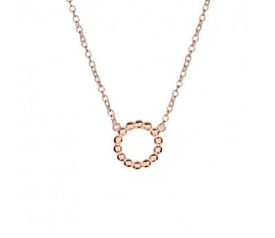 Multi Ball Open Disc Necklace