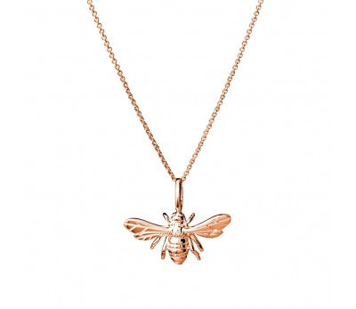 Rose Bee Necklace