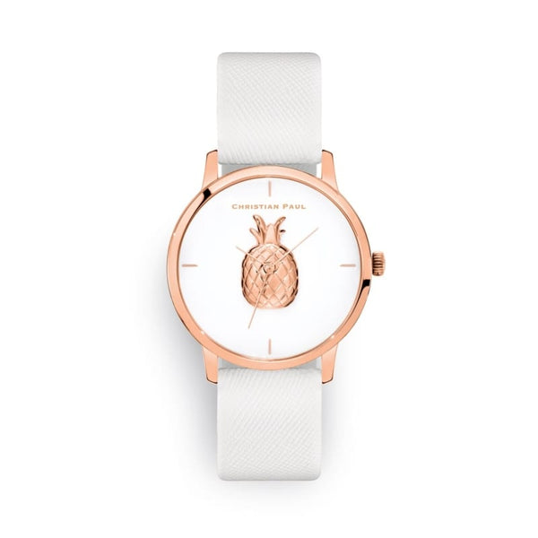 Opal White Pineapple Watch