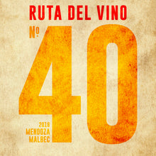 Load image into Gallery viewer, Ruta del Vino Mendoza Malbec