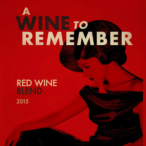 A Wine To Remember Paso Robles Red Blend
