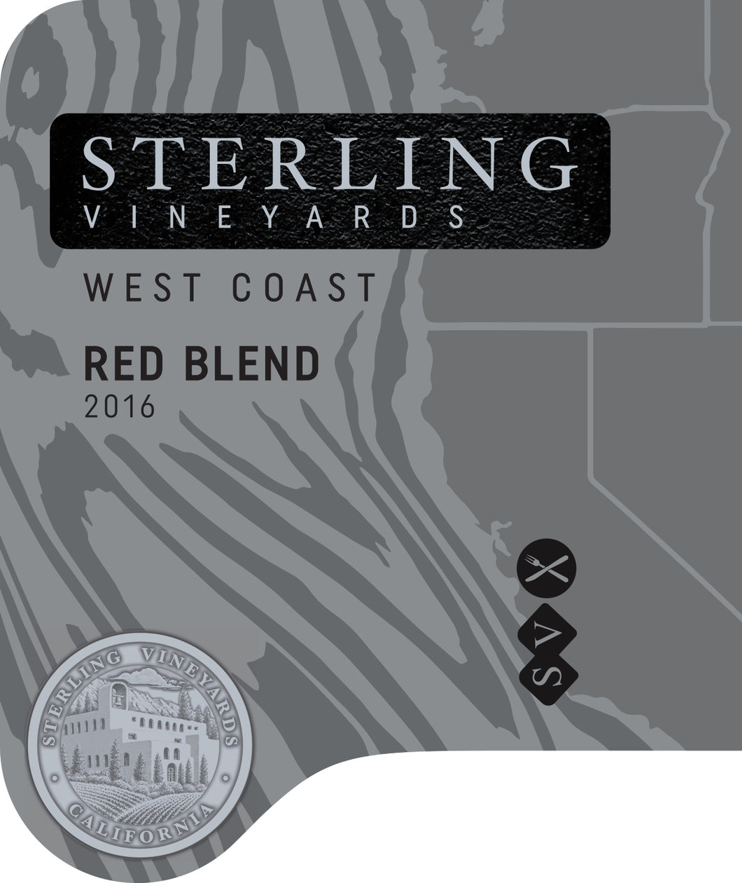 Sterling Vineyards West Coast Red Wine