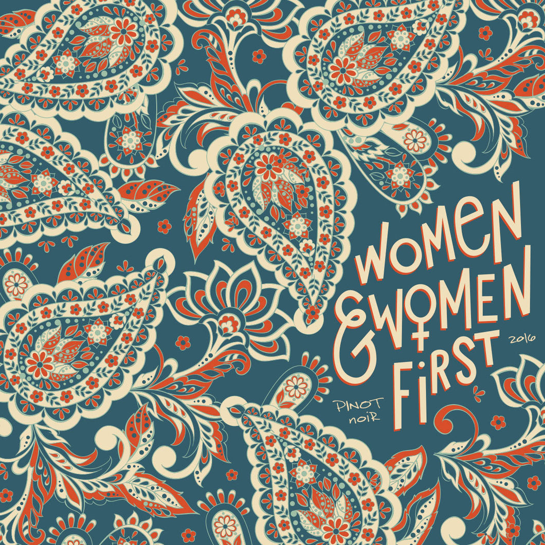Women and Women First Willamette Valley Pinot Noir (Portlandia)
