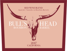 Load image into Gallery viewer, Bull's Head California Bourbon Barrel Red Blend