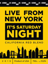 Load image into Gallery viewer, Saturday Night Live California Red Blend (SNL)