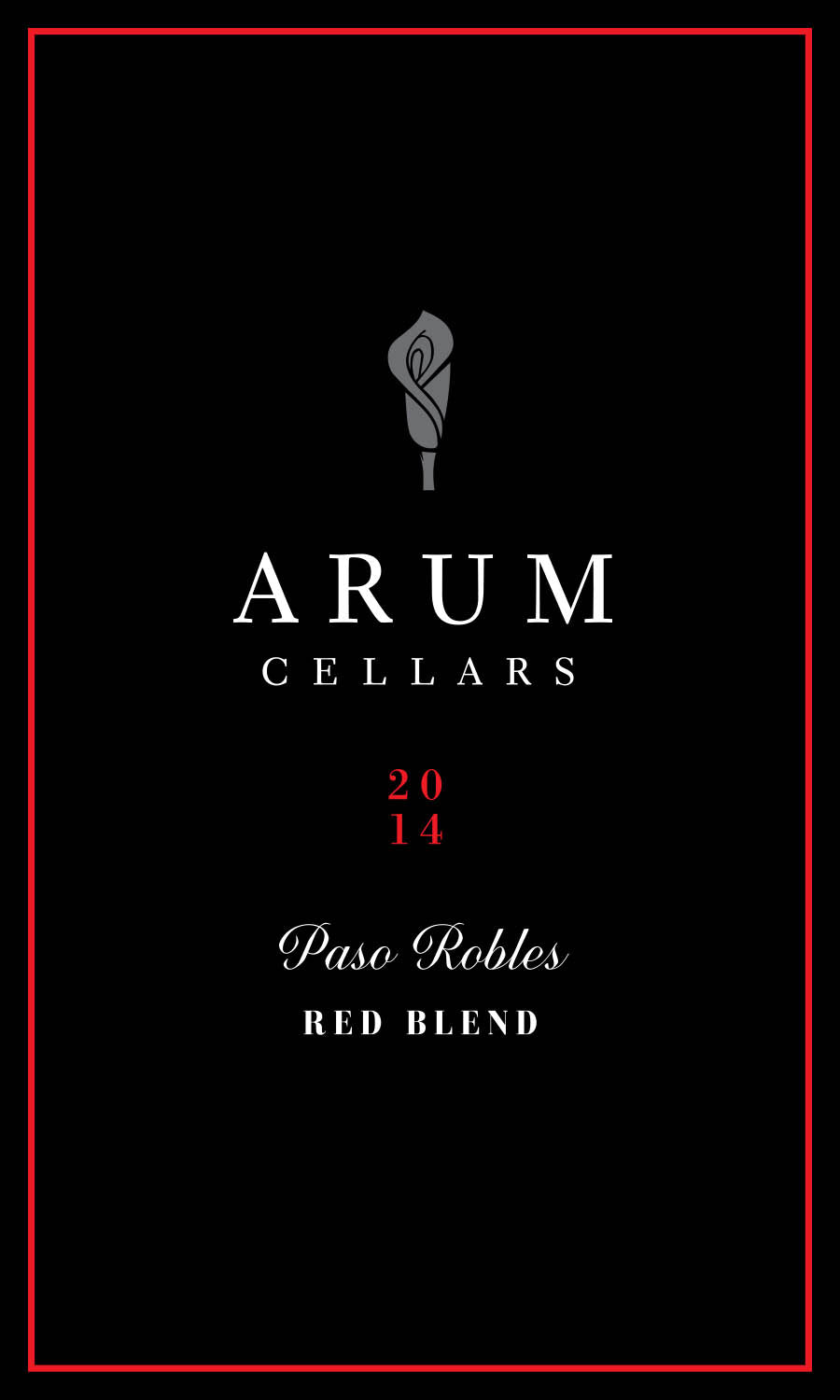 Arum Cellars Paso Robles Red Blend