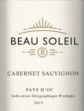 Load image into Gallery viewer, BEAU SOLEIL IGP Pays d'Oc Cabernet Sauvignon